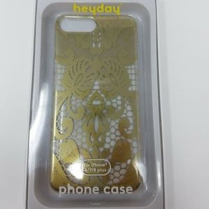 Heyday For Iphone 6/7/8 Plus Phone Case Gold Color
